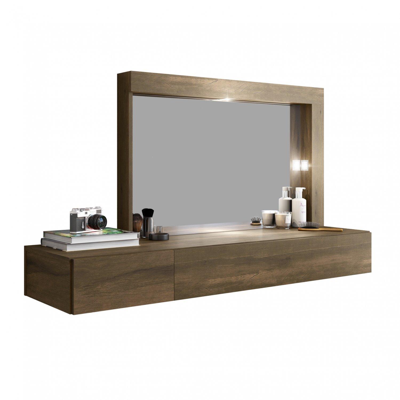 Camarim Suspenso com Espelho e 2 Gavetas Inspiração Mimo Albatroz Móveis  Cedro d04cffcc815fe