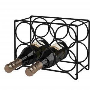 Porta Garrafas Aço para 6 Garrafas Aço Inox Domo House 027cfcc794315