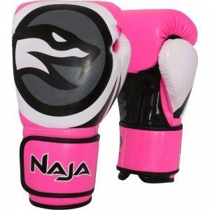 292c2e0ac Luvas de Boxe e Muay Thay Colors Flúor 10OZ Naja Rosa