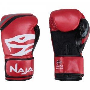 2ff4fc03b Luvas de Boxe e Muay Thai First 14OZ Naja Vermelho