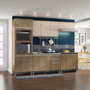 Cozinha completa madeiramadeira - Laminados para cocinas ...