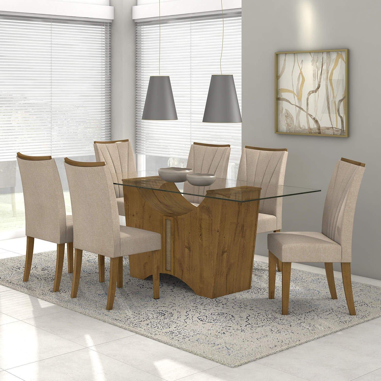 Sala De Jantar Completa Madeiramadeira Com Conjunto Cristaleira E