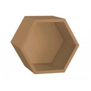 Nicho Hexagonal 1 Prateleira Favo Maxima Branco Bordô Laranja Novo ... dd3c784333