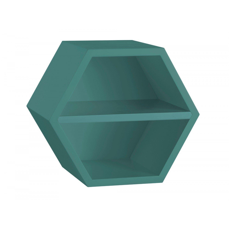 Nicho Hexagonal 1 Prateleira Favo Maxima - MadeiraMadeira 54b2f6a524