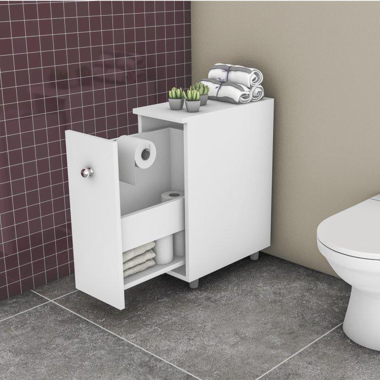 Arm rio para banheiro com 1 gavet o movelbento branco em - Armario de plastico para exterior ...