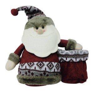 Boneco de Neve Sorriso com Gorro 30cm Toronto Niazitex Cinza ... 9be578e5715