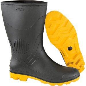 d60a974a6c5dd Capa para chuva de PVC com forro G amarela Nove54 Amarelo ...