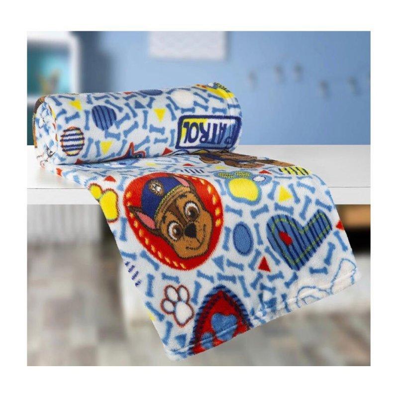 88c27d0b9f Manta Infantil Fleece Patrulha Canina 125x150 cm Lepper 57330