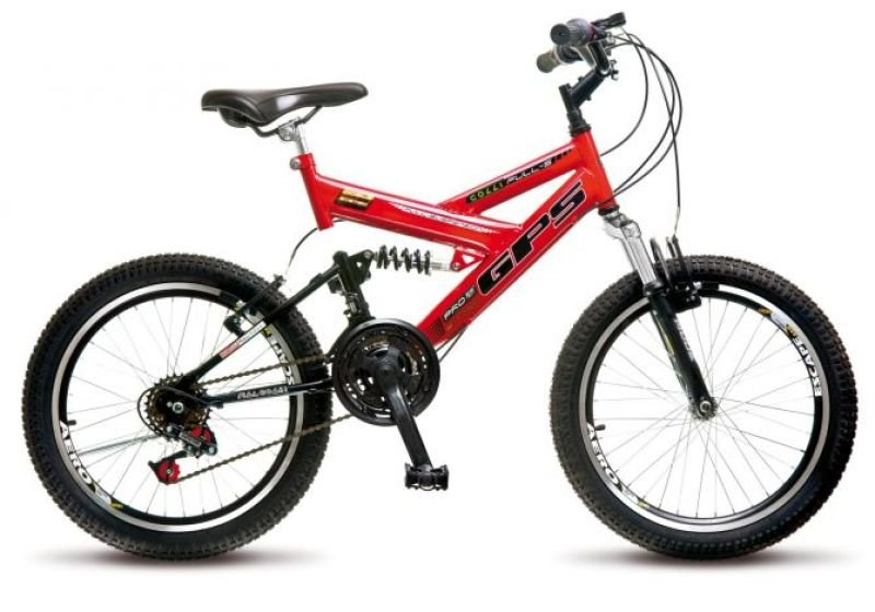 d73d21483 Bicicleta Colli Full Suspension Aro 20 Freio V-Break 21 Velocidades