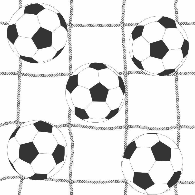Papel de Parede Infantil Futebol Adesivo Quarto Menino N4207 ... 003fb9b53a343