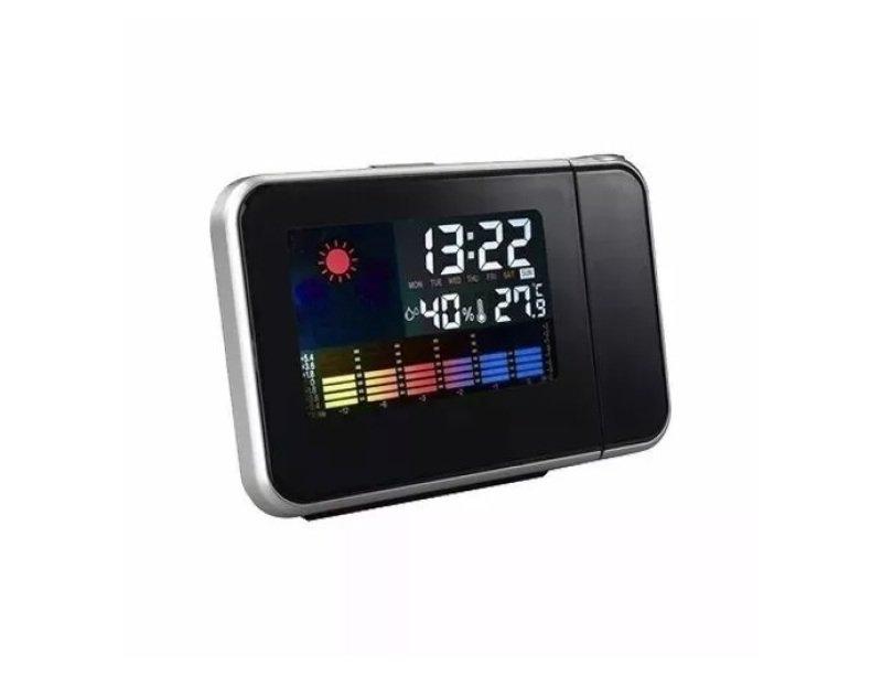 26d111efabf Relógio Digital Despertador Termômetro Com Luz - MadeiraMadeira