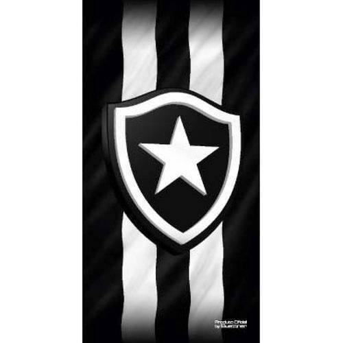 Toalha de Praia Buettner Veludo Estampado Brasão Botafogo ... d7814aa947a7f