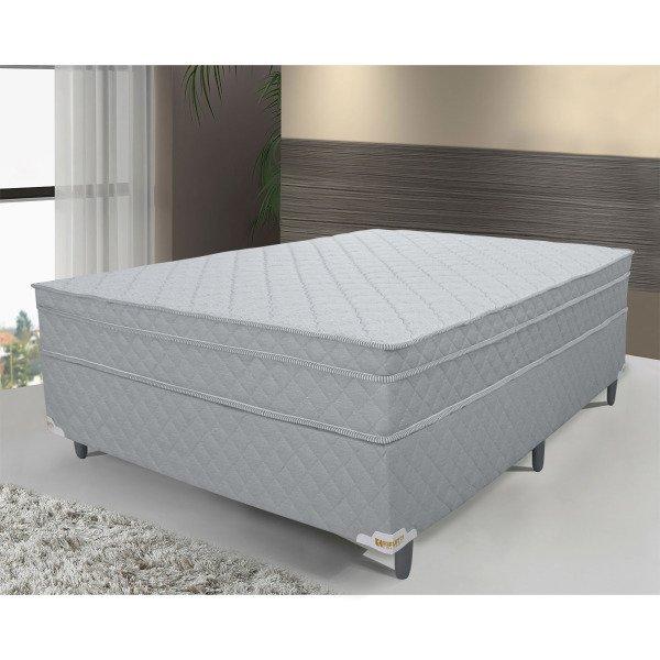 a06df5fab6 Conjunto Colchão Casal Mola Ensacada + Base ( 138x188x68) Connect Pillow In