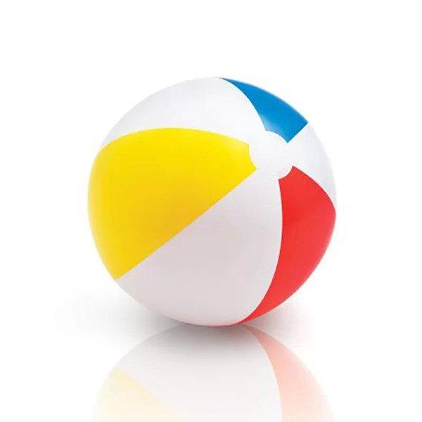 815769c5a Bola de Praia Lisa Grande Colorida - Intex - MadeiraMadeira