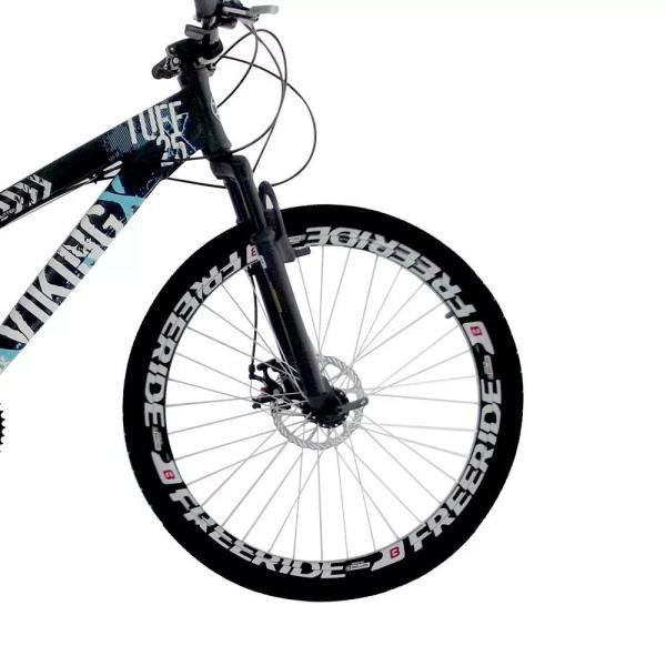 7d918af882 Bicicleta Vikingx Tuff 25 Freeride Aro 26 Freio À Disco 21 Marchas ...