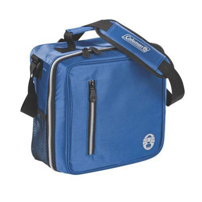 Bolsa Térmica Messenger Coleman Azul Capacidade para 12 Latas com Alça b00c6c3c85