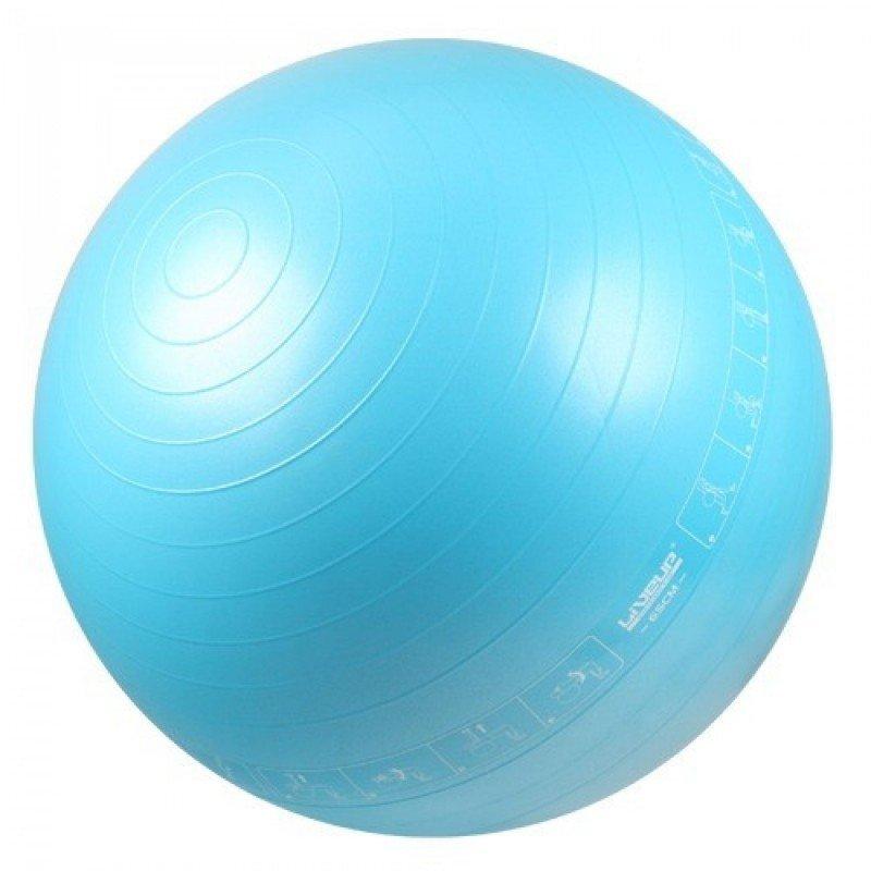 Bola Suíça para Pilates 65 CM Azul LIVEUP LS3577 - MadeiraMadeira c0c3c6064b0ac
