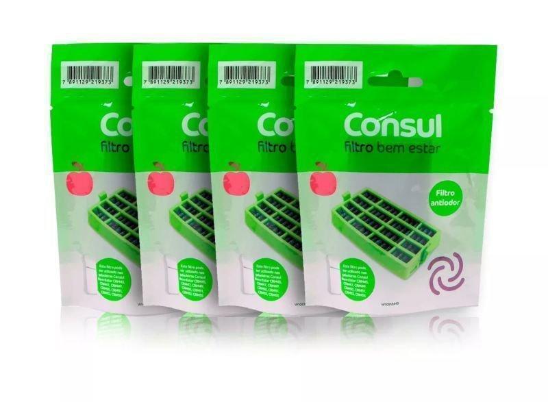 e1aaf4f99995 Kit Com 4 Itens - Filtro Consul Bem Estar W10515645 Original ...