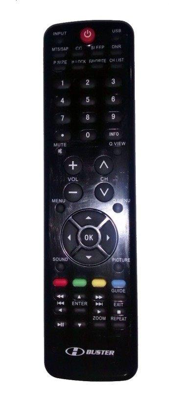 b05ef89e6 Controle Remoto Tv Lcd H-buster Htr-d19 Preto - MadeiraMadeira