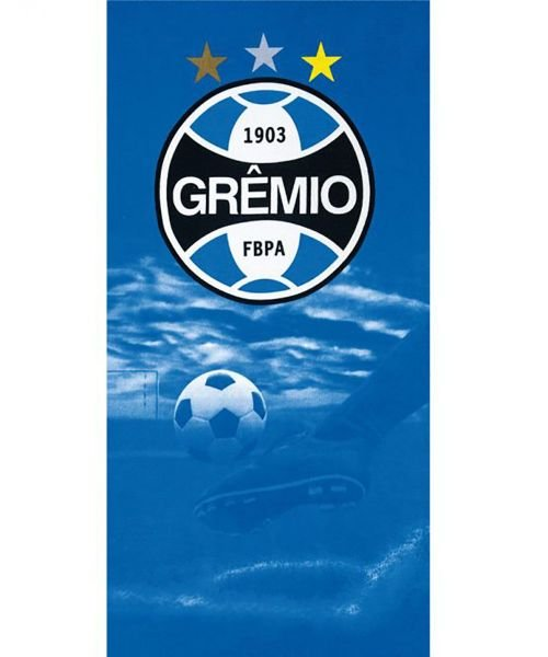cd7fad3a5f6b Toalha de Banho - Clubes de Futebol - Grêmio - Mod 07 - Aveludada - Dohler