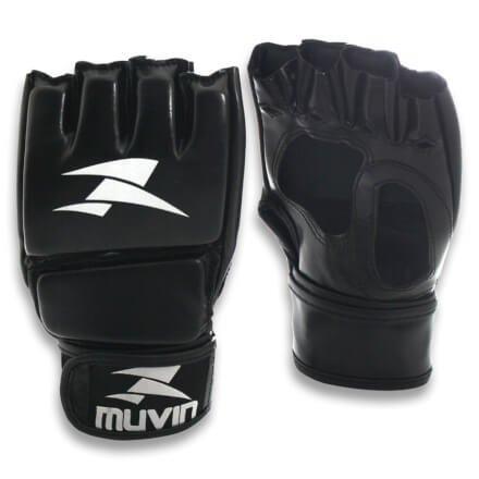 8e5251713 Luva de MMA Clinch MA - P M - Preto - Muvin LVM-200