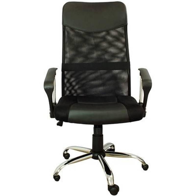 270e4cbb143f Cadeira Presidente Pel-8009 Giratória Regulagem De Altura A Gás Tela Mesh  Preta - Pelegrin