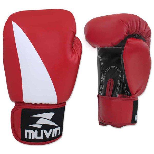 cd63b4dc8 Luva de Boxe Bolt BX - 10oz - Preto Vermelho - Muvin LVB-200