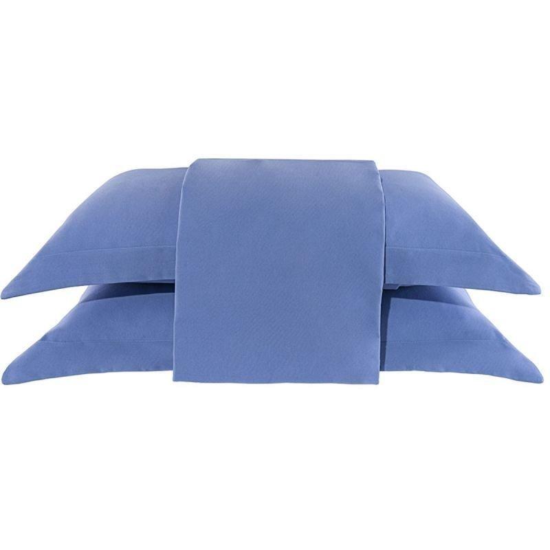 41ba46211d Lençol Casal Queen Avulso - Home Liso - Azul. Esgotado