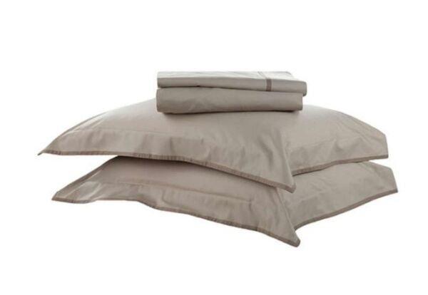 942d61f15d Jogo de Cama Solteiro Percal Confort Basic Premium Buddemeyer - Kaki