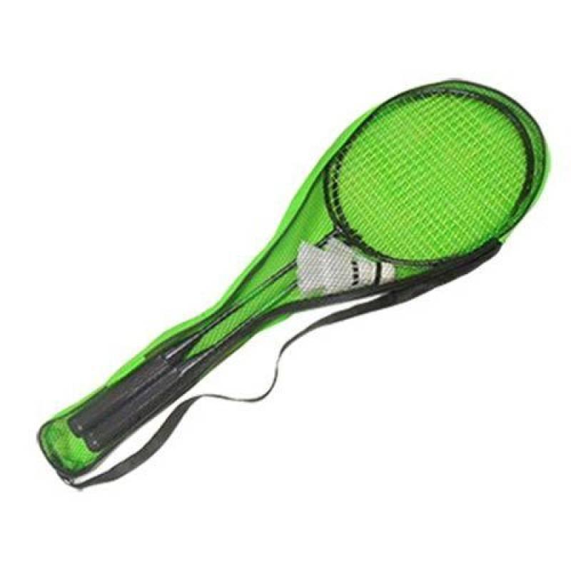 b65a32ee36928 Kit Badminton Completo Com 2 Raquetes E 2 Petecas Jogo Com Bolsa Para  Transporte