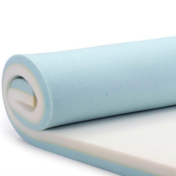 5dc13152ecac Pillow Top Visco Nasa Gel + Látex Hr Foam Casal 8cm - MadeiraMadeira