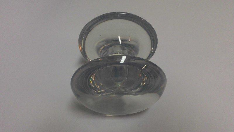 Puxador duplo de resina incolor grande porta de vidro - MadeiraMadeira 0dd8cd6e2e