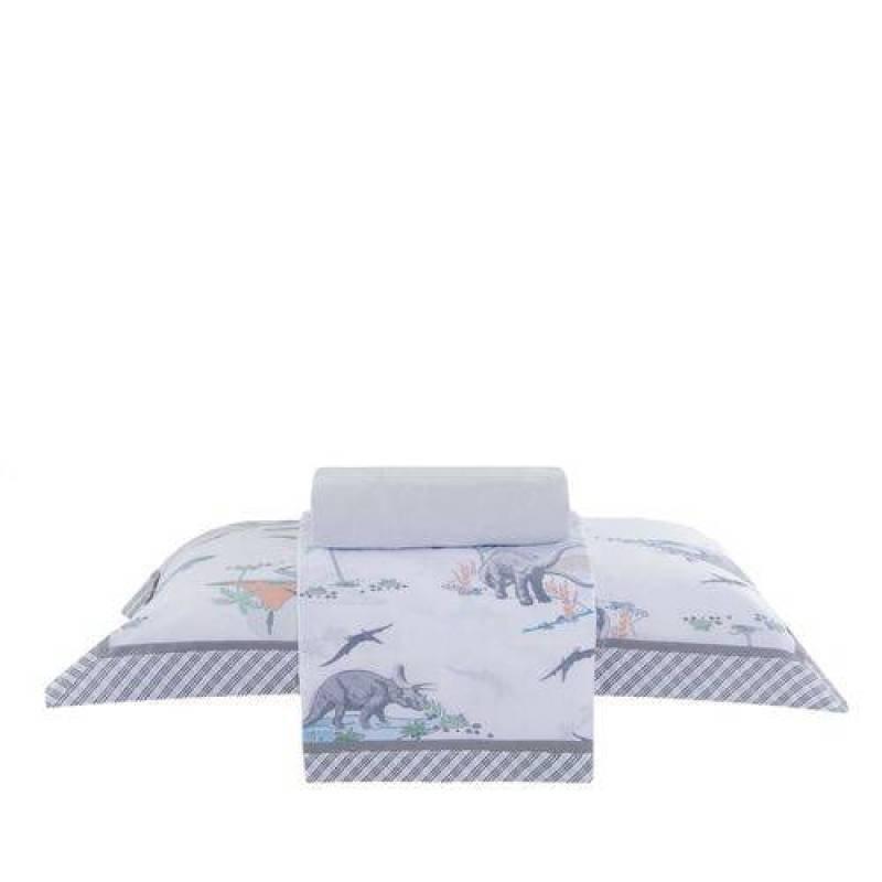 3e028334ee jogo de cama infantil buddemeyer 160 fios 100% algodão kids dino ...