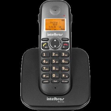7819d5d1b Telefone Sem Fio Ts 5120 Com Viva Voz - Intelbras - MadeiraMadeira