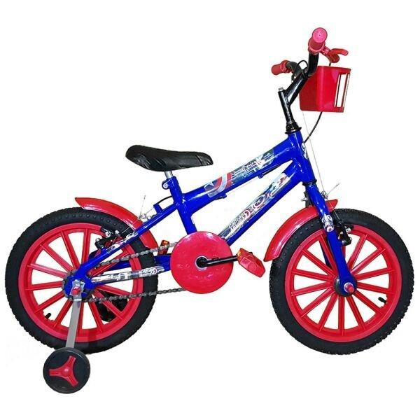 282636b68 Bicicleta Infantil MTB Hot Aro 16 Azul Amarelo Colli - MadeiraMadeira