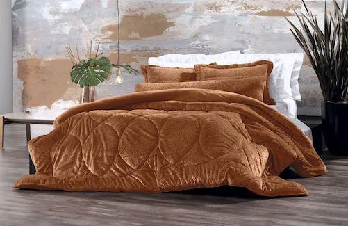 3068f946e8 Edredom King Blend Elegance Classique Altenburg - MadeiraMadeira