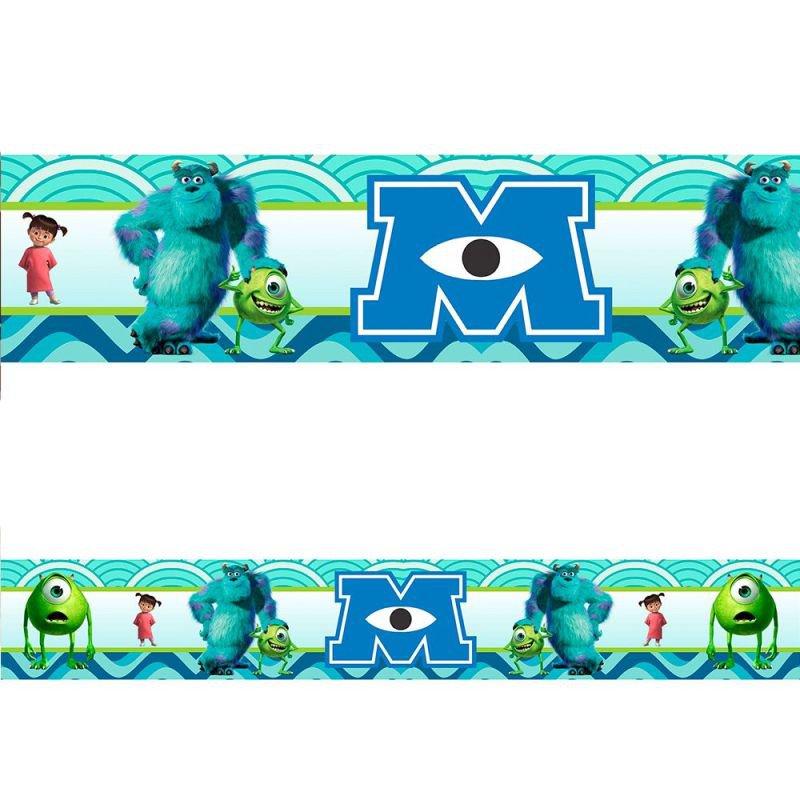 Faixa Decorativa Monstros SA - 7m - MadeiraMadeira cd6ae5b439432
