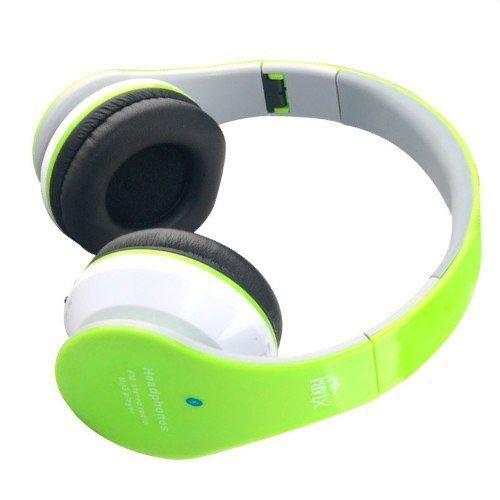 570f774b0 Fone Ouvido Favix B01 Sem Fio Bluetooth Fm Entrada Cartão P2 Auxilar - Verde