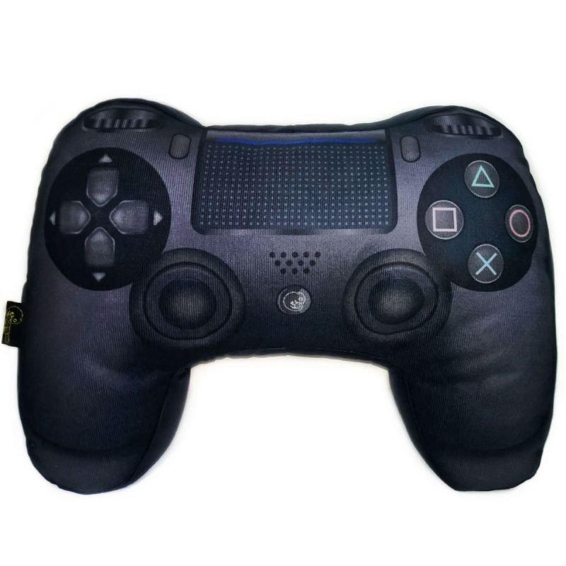 68be77bcc4 Almofada Gamer Controle de Videogame Playstation 4 Preto 3D ...