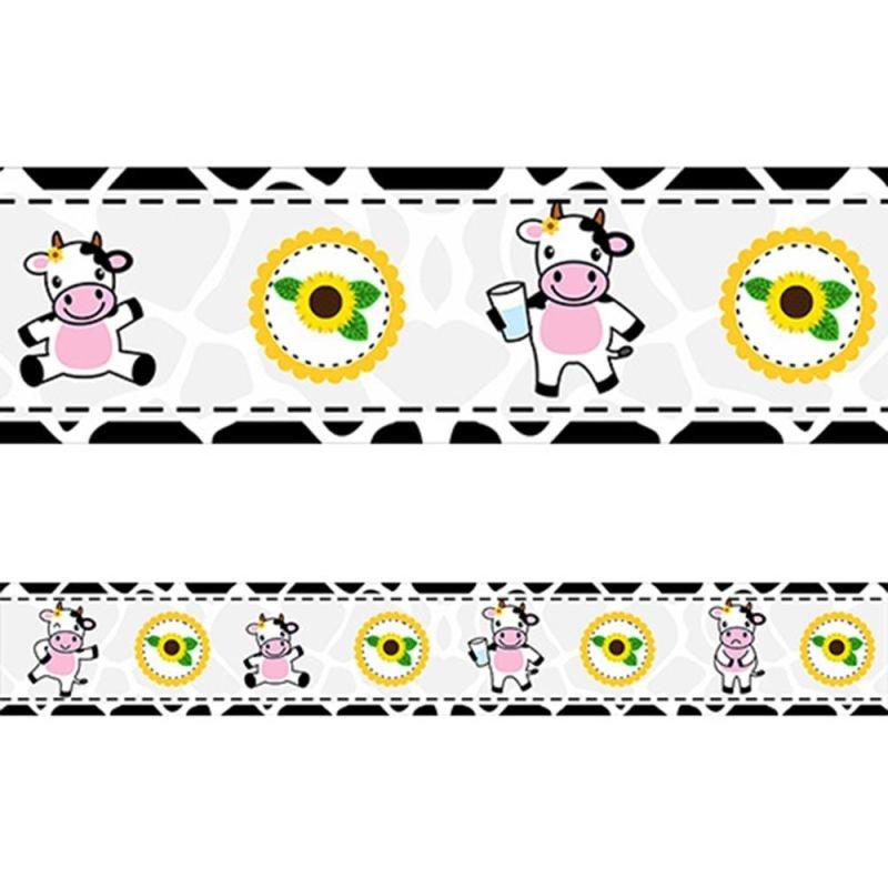 6ea1d854d Faixa Decorativa - Cozinha - Vaquinha - 9m - MadeiraMadeira