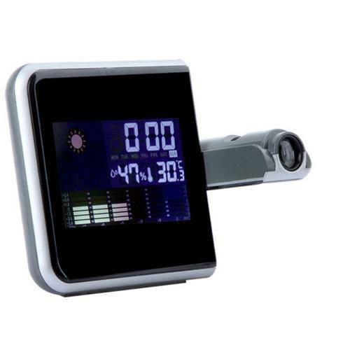 87473bc7ffd Relogio Projetor Hora Desperta e Mede Temperatura Led (DS-8190 ...