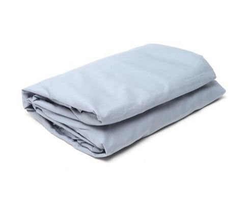 48cd7fed42 Lençol Casal Percal Confort Basic com Elástico Buddemeyer - Azul Claro 024