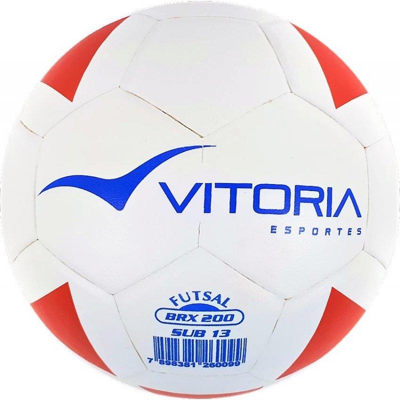 10f01c2816 Bola Futsal Vitoria Oficial Termotec Pu Max 500 kit com 3 ...