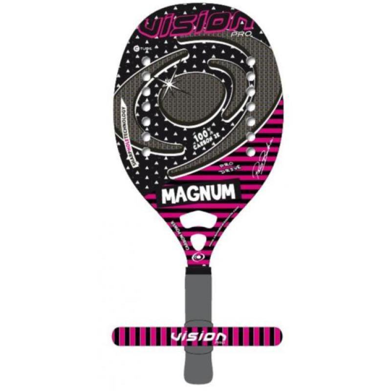 cfce023e0 Raquete de Beach Tennis Vision Magnum - MadeiraMadeira