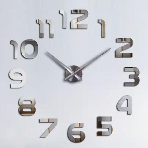 63f829bc62f Relógio Grande 3D Decoração Parede Casa Sala Escritório - MadeiraMadeira