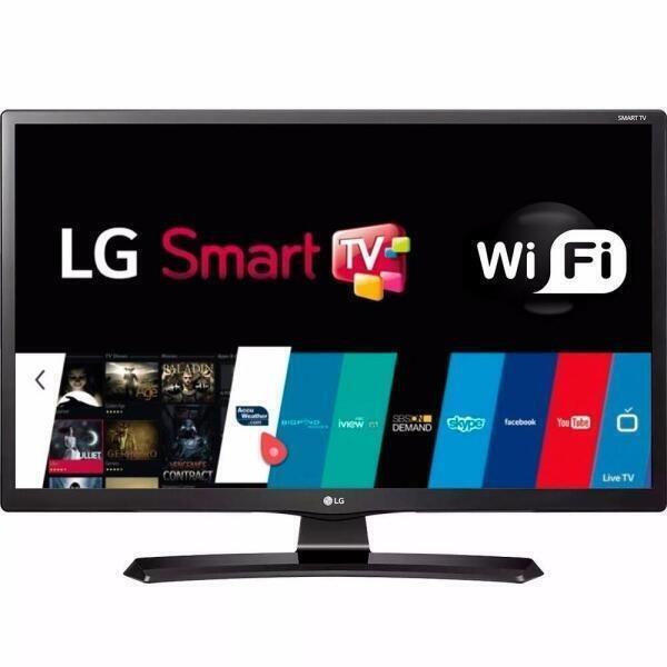 97e277988fd Smart TV Monitor Led LG 24 HD 24MT49S-PS - MadeiraMadeira