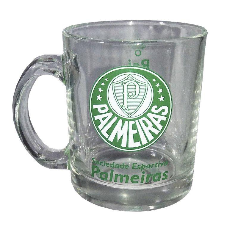 Kit Caneca de vidro Oficial Palmeiras com Chaveiro abridor ... f07e2ab352