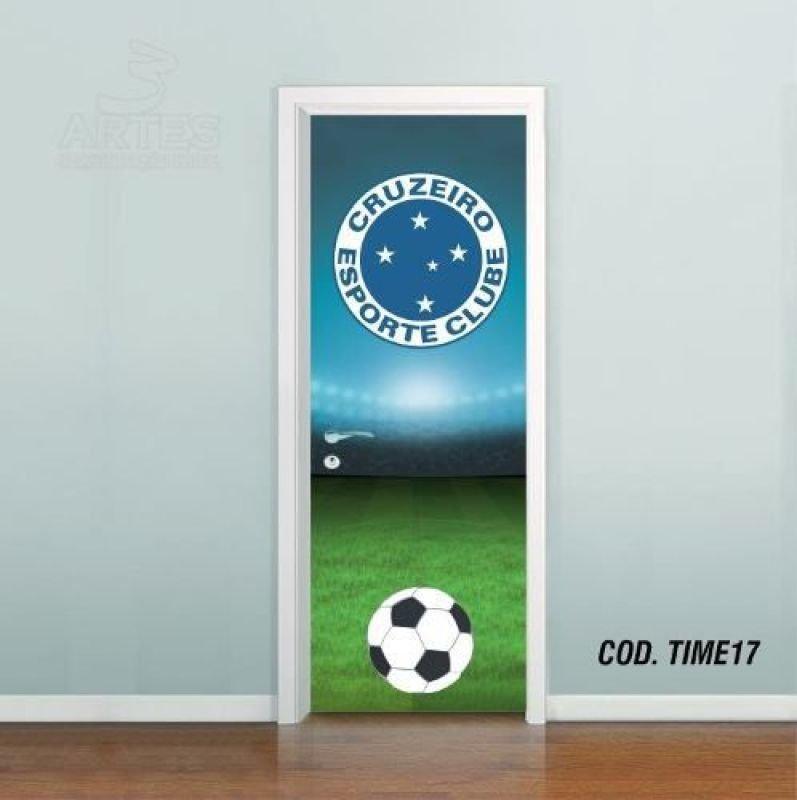 4f7cf38b55 Adesivo De Porta Futebol Cruzeiro - OUTRA MEDIDA