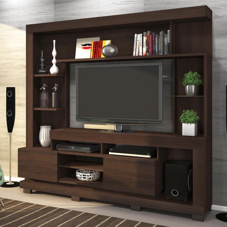 Estante para tv at 50 polegadas thalia linea brasil - Estante para televisor ...